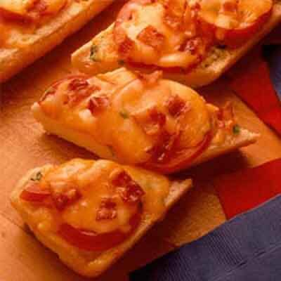 Bacon, Cheese & Tomato Loaf Image