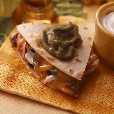 Cheesy Crab Quesadillas Image