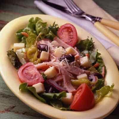 Italian Cheese & Turkey Salad Image