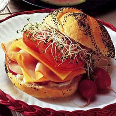 Firecracker Turkey Sandwich Image