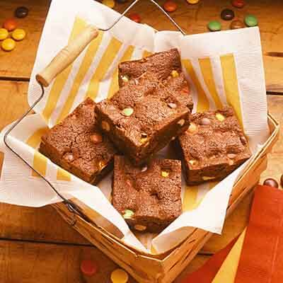 Candy & Peanut Brownies Image