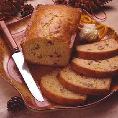 Orange Walnut Bread Image