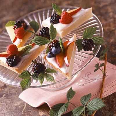 Fruit & Cream Tart Image