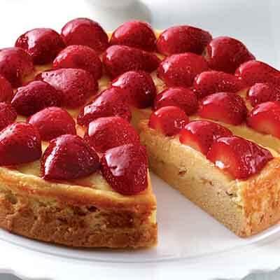 Strawberry Almond Cream Shortcake