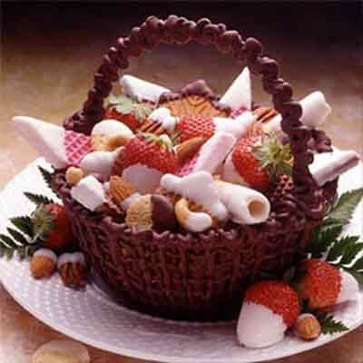 Dark Chocolate Basket Image