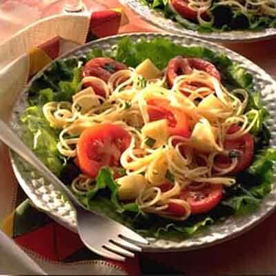 Tomato Basil Salad With Mozzarella Image