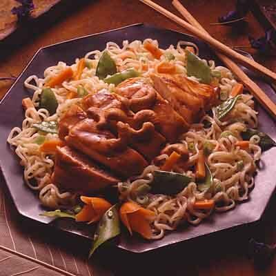 Oriental Chicken Pasta Salad Recipe