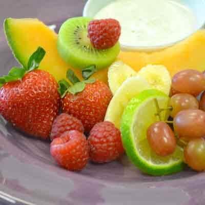 Fresh Lime Fruit Salad Image
