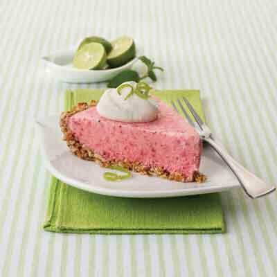 Frozen Strawberry Margarita Pie Image