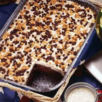 Chocolate Peanut Cake Recipe