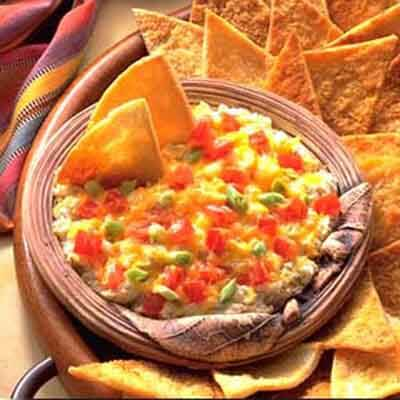 Artichoke & Jack Dip With Pita Chips Image