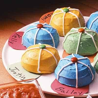 Baseball Cupcake Recipes