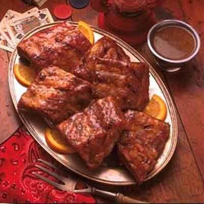 Honey Mustard Glazed Ribs Image