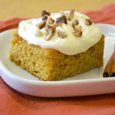 Frosted Pumpkin Bars Image