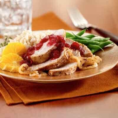 Cranberry Glazed Turkey Tenderloin Image