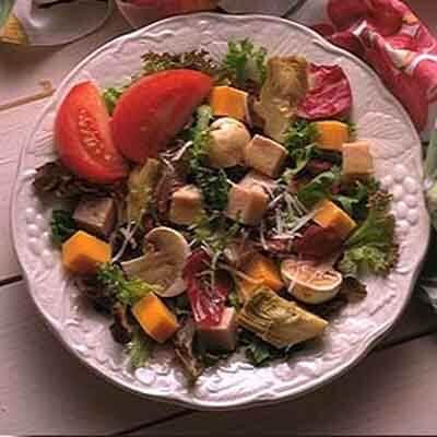 Artichoke & Turkey Country Salad Image