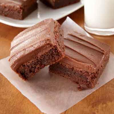 Simple Fudgy Saucepan Brownies Image