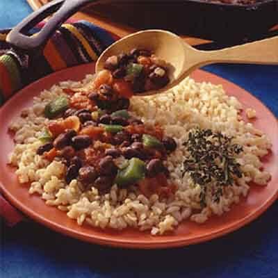 Cuban-Style Black Beans & Rice Image