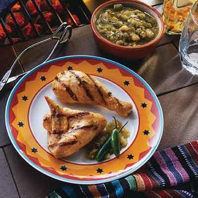 Serrano Pepper Grilled Chicken Image
