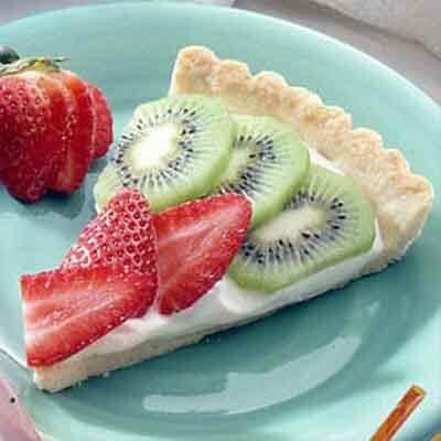 Strawberry & Kiwifruit Tart Image