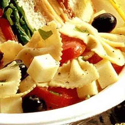 Italian Bow Tie Salad Image