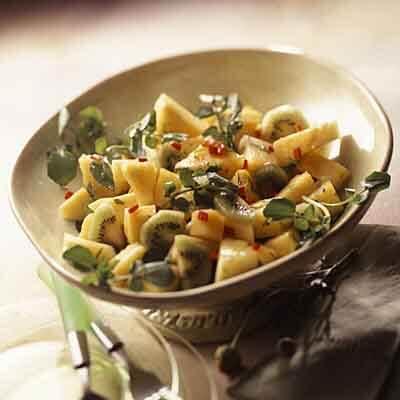Mango, Pineapple & Kiwi Salad Image