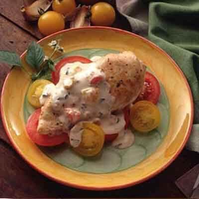 Tomato Basil Chicken Breast Recipe