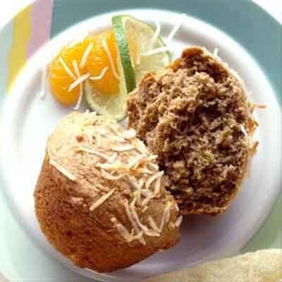 Tropical Banana Cream Muffins Image