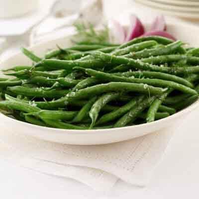 Herb-Style Fresh Green Beans Image