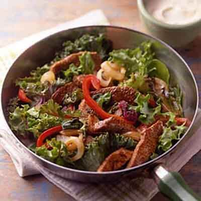 Stir-Fry Salad With Honey Dijon Dressing Image
