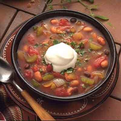 Spicy Two-Bean Chili Image
