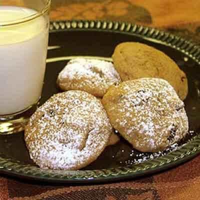 Applesauce Rasin Spice Cookie Recipe