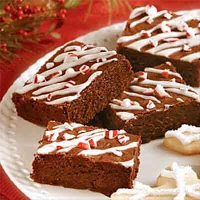 Peppermint Brownies Image
