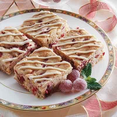 Cranberry Vanilla Chip Bars Image