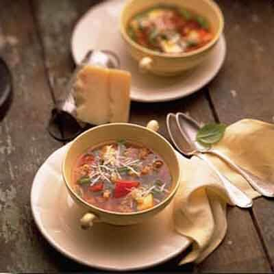 Minestrone With Pasta Image
