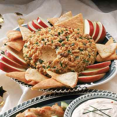 Four Cheese & Walnut Cheese Ball Image