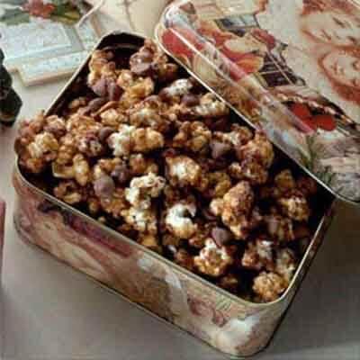 Chocolate Chip & Almond Caramel Corn Image