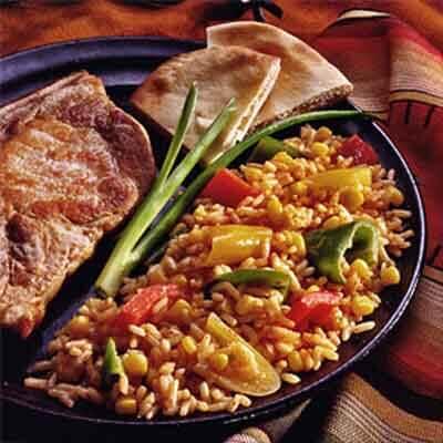 Rio Grande Peppers & Rice Image