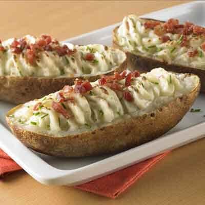 Light-Twice Baked Potatoes