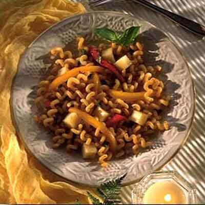 Fusilli With Sweet Peppers Image