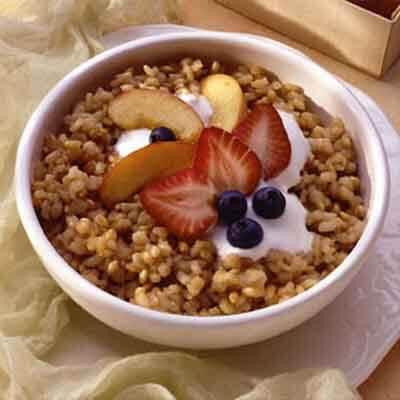 Three-Grain Breakfast Pilaf Image
