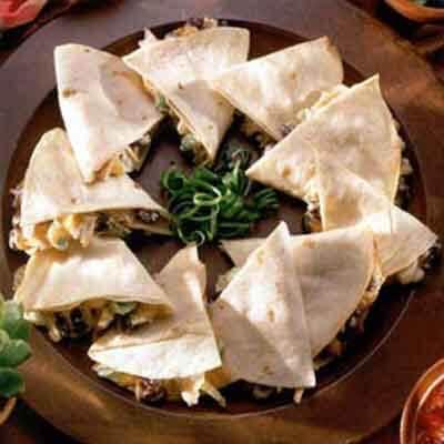 Chicken & Black Bean Quesadillas Image