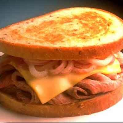Grilled Beef & Onion Sandwich Image