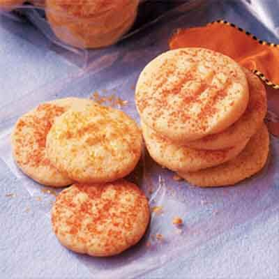 Orange Cornmeal Crisps Image