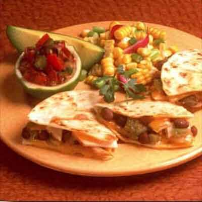 Turkey & Black Bean Quesadillas Image
