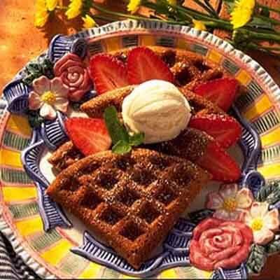 Chocolate Sour Cream Waffles Image
