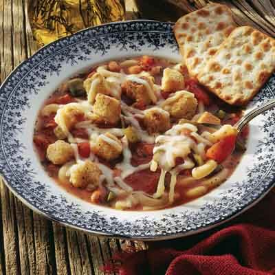 Minestrone In Minutes Image