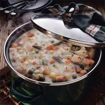 Quick Potato Vegetable Chowder Image
