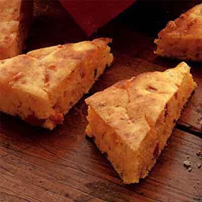Toasty Cornbread Triangles Image