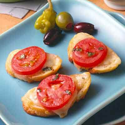 Tomato Cheese Baguettes Image